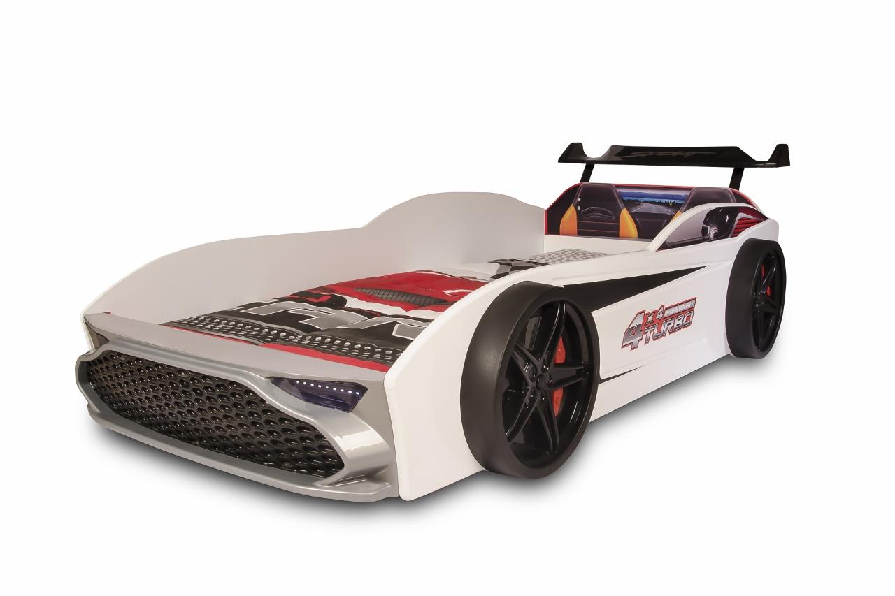OrgaHaus Möbelparadies : Autobett GT18 Turbo 4x4 , mit LED Leuchten